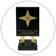 Premio International Star for Quality. Puertas Piquer