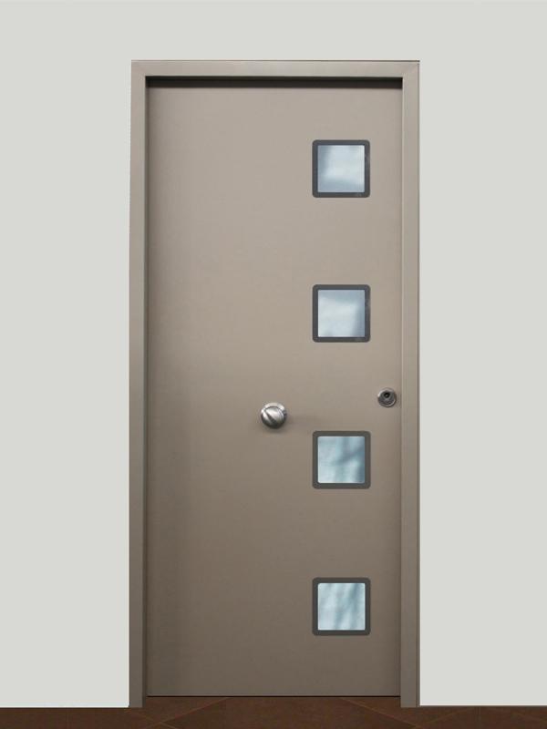 Puertas residenciales. Modelo Evol