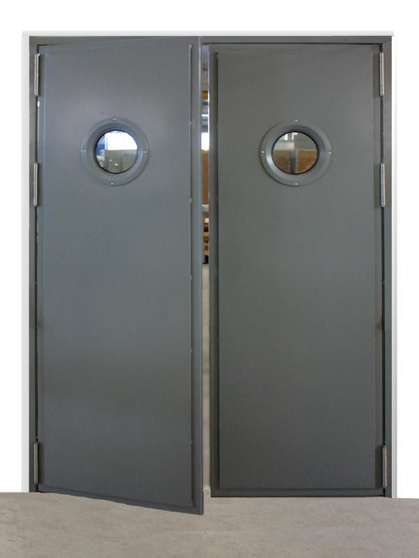 Puerta doble hoja Vaivén