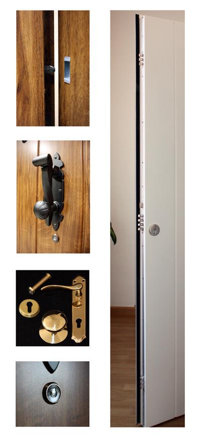 Accesorios Puertas residenciales Gama alfa